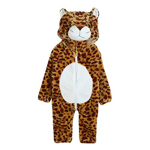 JYJMToddler Newborn Baby Boys Girls Animal Cartoon Hooded Rompers Outfits Clothes (Größe: 24Monat, (Hooded Kostüm Muster Robe)