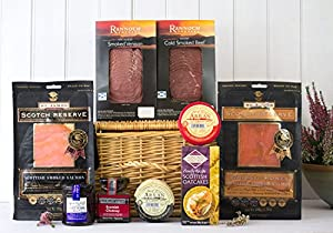 The Smokehouse Scottish Hamper from Fine Scottish Hampers