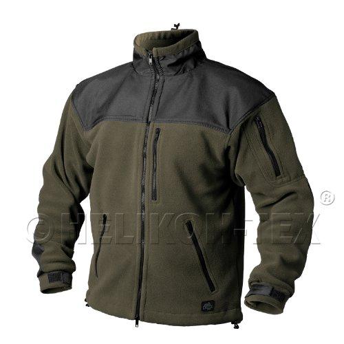Preisvergleich Produktbild Helikon Classic Army Fleece Oliv Grün / Schwarz Größe M