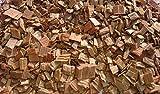 Eichenholzchips Cognac 100g - aus Cognac Fässer | Räucherholz | Eichenholz Chips | Holzspäne | Holzfässer