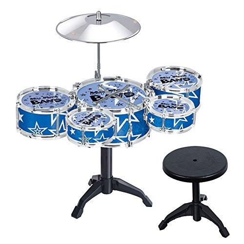 beetest-kinder-drum-set-musikinstrument-educational-musik-spielzeug-blau