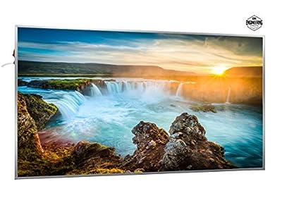 600W Infrarotheizung mit Bild (Wasserfall) inkl. Digitalthermostat mit 7 Tagesplanung - Smart & Nice Serie mit Ein-/Ausschalter - Fern Infrarotheizung mit 7 Jahren Garantie von Inover Home B.V. bei Heizstrahler Onlineshop