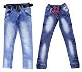 fourgee Boys' Regular Fit Jeans - Combo ...