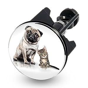 Lavabo design-bouchon excentrique-plug-chien/chat