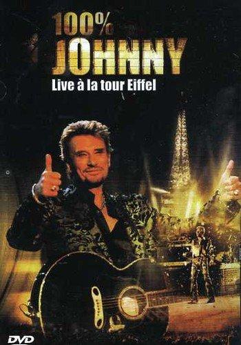 Bild von Johnny Hallyday : 100% Live à la Tour Eiffel (live 2000) - (Coffret 2 DVD)