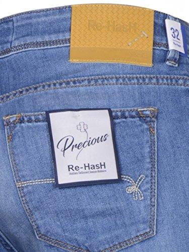Re Hash Herren Jeanshose blau Denim 46 Denim