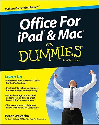 Preisvergleich Produktbild Office for iPad and Mac For Dummies