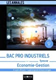 Bac Pro Industriels - Économie-Gestion...