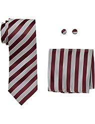 landisun Stripe, Tie Set Homme