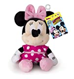 Minnie Mouse 182394MM2 Minnie Maus Classic Mini Plüsch, Rose