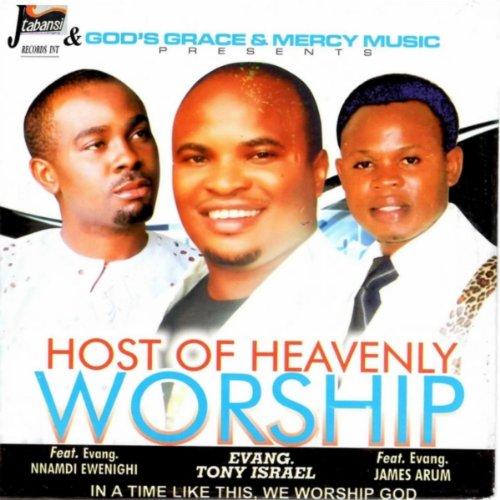 Host of Heavenly Worship Medley 1: Oh Lord My God / Jesus Durum Gafe / Bigger Than My Problems / Bia Mere Onwe Gi Aha / Nmuo Di Njo Na Acho Ngozi / Ijuru Eligwe Ju Uwa / Mgeweli Anyam Abua / Imela Odighi Onye Dika Gi / Your Name Is Great / Aka Jehova / (f