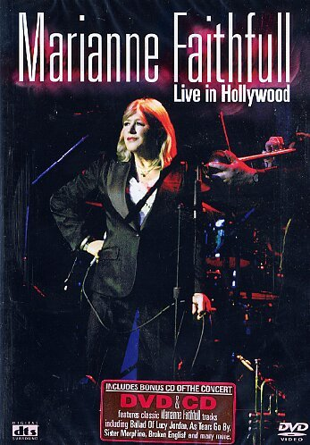 Bild von Marianne Faithfull - Live in Hollywood (+ CD) [2 DVDs]