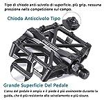 ISSYZONE-Pedali-MTB-Bici-Pedali-Flat-CNC-Lega-di-Alluminio-Pedale-Bicicletta-da-Corsa-Montagna-Cuscinetto-ASSE-Anti-Slittamento-Pedali-per-Bici-da-Strada-Ciclismo-Biciclette