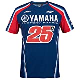 Maverick Vinales 25 Moto GP Yamaha Factory Racing T-shirt Offiziell 2018