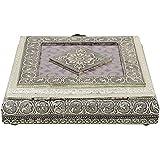 Craft Zone Dry Fruit Box, Serving Tray, Decorative Platter, Beautiful Snack Box With Meenakari Work(27 Dry Fruit Box)