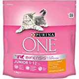 Purina One Junior de 1 à 12 mois - au Poulet et...