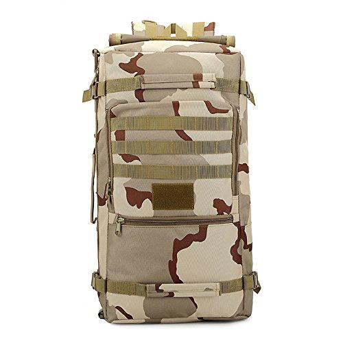e-jiaen zaino 75L alta capacità borse a tracolla/borsa per archiviazione o organizzatore di Comping trekking viaggio alpinismo sport accessori da pesca, C1 C2