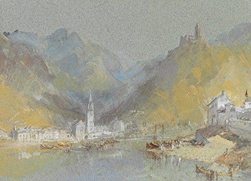 Das Museum Outlet-auf der Mosel-Bernkastel, Kues und die Landshut, Deutschland-Poster Print Online kaufen (152,4x 203,2cm)