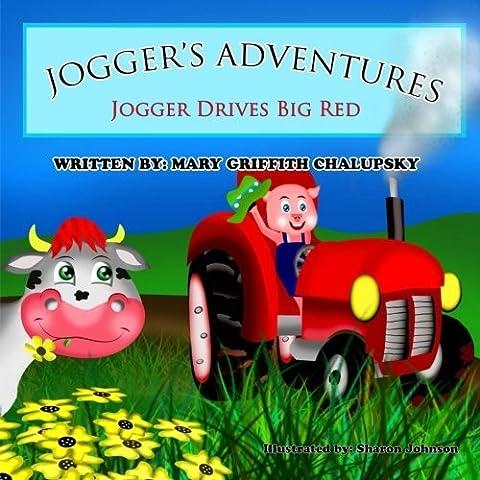 Jogger Drives Big Red - Red Jogger
