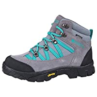 Mountain Warehouse Edinburgh Vibram Youth Waterproof Boots - Breathable Kids Boots, Light Walking Boots, Mesh Lining Summer Shoes, Durable Rain Boots - for Travelling