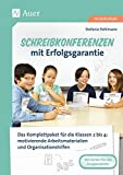 Schreibkonferenzen mit Erfolgsgarantie: Das Komplettpaket für die Klassen 2 bis 4: differe nzierte Arbeitsmaterialien und Organisationshilfe