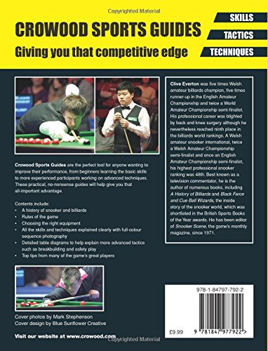 Snooker and Billiards: Skills - Tactics - Techniques (Crowood Sports Guides)