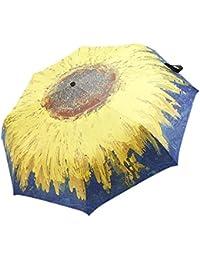 Luxsea Great Objects Van Gogh Almond Blossom - Paraguas automático, para la playa, diseño de paraguas de sol y lluvia, 3 paraguas…
