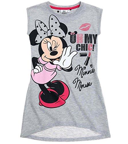 ion 2018 Nachthemd 98 104 110 116 122 128 134 140 Neu Nachtwäsche Nachtrobe Disney (Grau, 122-128) (Minnie Kleid)