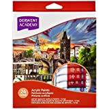 Derwent Academy Acrylic Paints 12ml (Pack of 24)