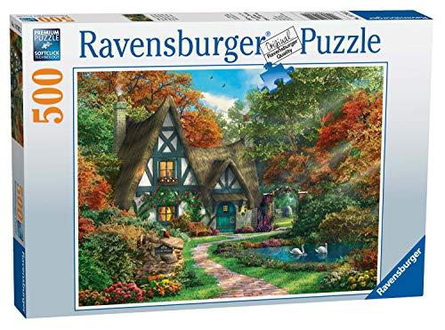Ravensburger 00.014.792 Puzzle - Rompecabezas (Rompecabezas con Pistas Dibujadas, Flora, Preescolar, Niño/niña, 10 año(s), 14 año(s))