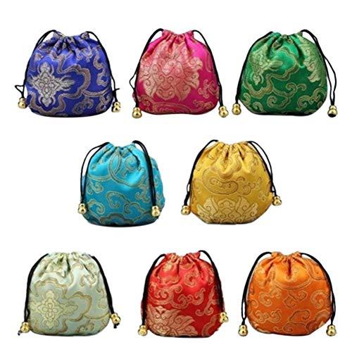 flower205 5 stück Wundertüte Interessante Blessing Red Bag, Candy Bag Viel Spaß für Männer Frauen Candy Bag Viel Glück Tasche (Viel Glück Candy)