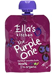 Ella's Kitchen The Purple One Fruit Smoothie Multi Organic , 5 x 90g Packets