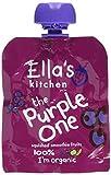 Ella's Kitchen The Purple One Fruit Smoothie Multi Organic , 5 x 90g Packets