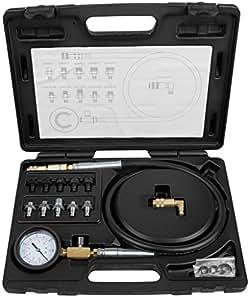KS Tools 150.1920 Kit de test de pression à huile 12 pièces