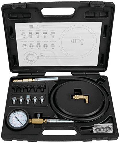 KS Tools 150.1920 Öldruck-Prüfgerät, 12-tlg., 0-10bar