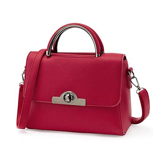 GBT Neue Tendenz-Damen-Handtaschen-Schulter-Beutel wine red
