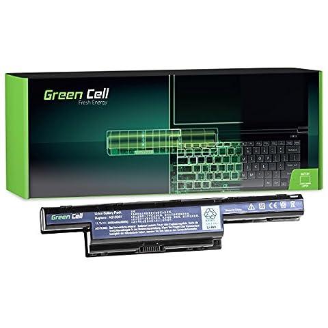 Green Cell® Standard Série Batterie pour Acer Aspire 7741ZG Ordinateur PC Portable (6 Cellules 4400mAh 11.1V Noir)