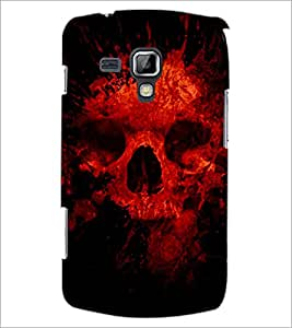 PrintDhaba Scary Skeleton D-4341 Back Case Cover for SAMSUNG GALAXY S DUOS 2 S7582 (Multi-Coloured)