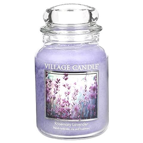 Village Candle 106326810 Candle Rosemary Lavender Purple