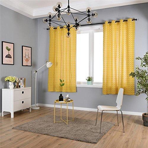 HJJHJ Pencil Pleat Blackout Vorhangpaneele - Super Soft Solid Fenster Behandlungen Vorhänge Room Verdunkelungs Vorhänge Privacy Protect für Schlafzimmer und Wohnzimmer, 1 Paar