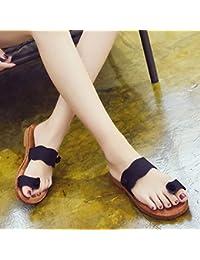 PENGFEI Zapatillas de Playa de la Mujer (Color : B, Tamaño : EU37/UK4.5-5/L:235mm)