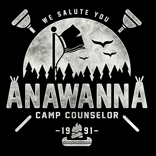 We Salute You Camp Anawanna Salute Your Shorts Men's Vest Black