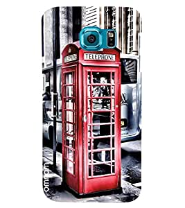 Omnam Telephone Booth Printed Designer Back Cover Case For Samsung Galaxy S7 EDGE