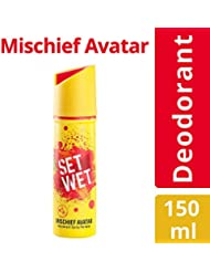 Set Wet Mischief Avatar Deodorant Spray Perfume, 150ml