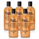 BRUBAKER Happiness 'My Peach Temptations' 5x Duschgel à 520 ml Set Pfirsich