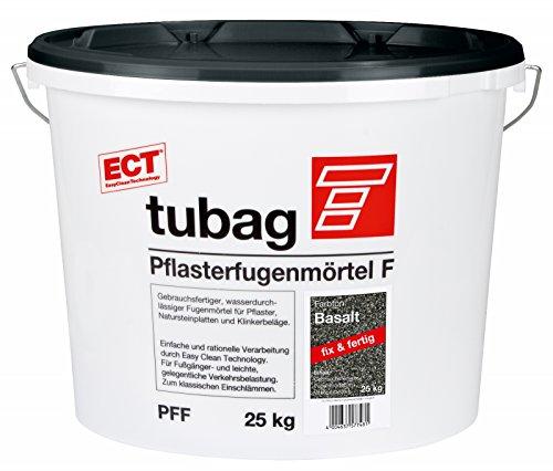 Tubag Pflasterfugenmörtel F PFF 25 kg/ Eimer (Basalt)
