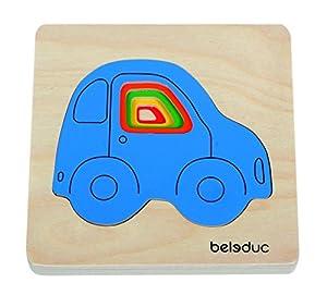 Beleduc - Puzzle de Madera de 6 Piezas (BEL10142) Importado