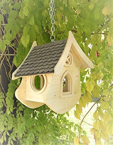 Manufaktur Martinshof Vogelhaus Liselle Bausatz grau