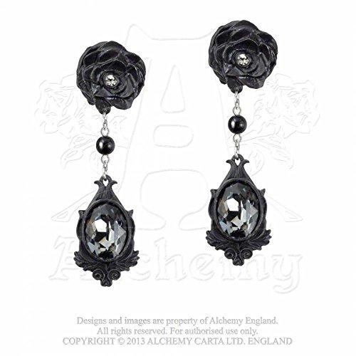 Alchemy Gothic Oscuri Desideri Coppia di Orecchini