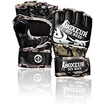 Boxeur Des Rues Activewear Guantes MMA lucha tribal, camuflaje, S